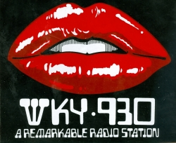 Radio Station Sticker